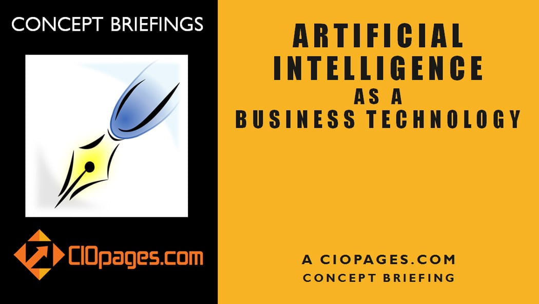 Artificial Intelligence as a Business Technology