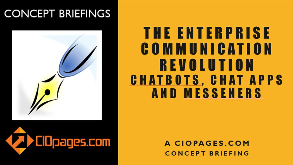 Chatbots, Chat Apps, and Messengers