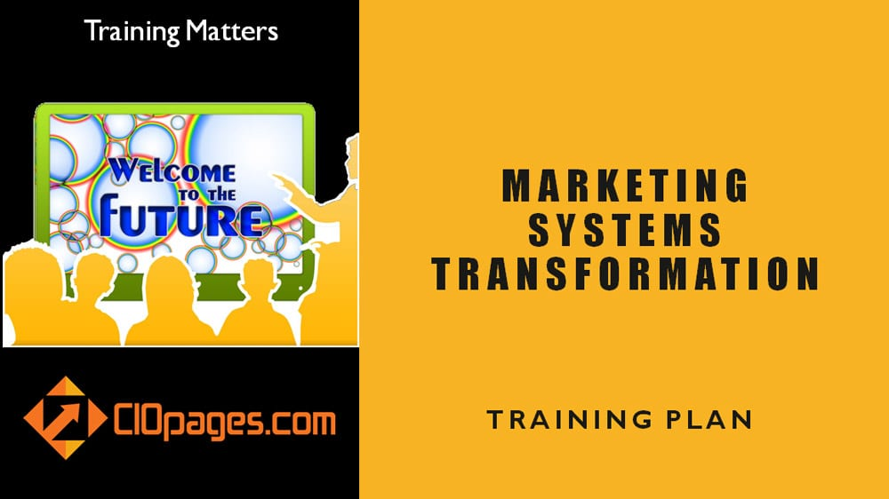 Marketing Transformation Training Plan