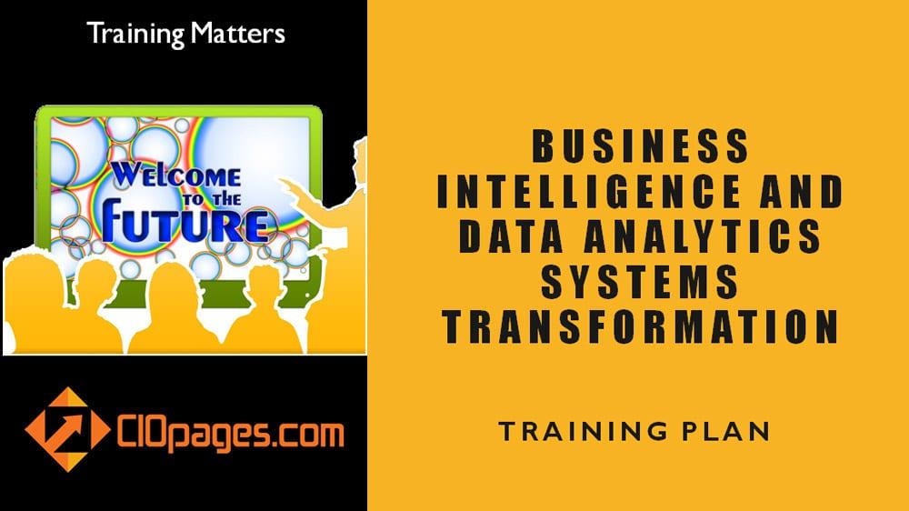 Business Intelligence Transformation Training plan