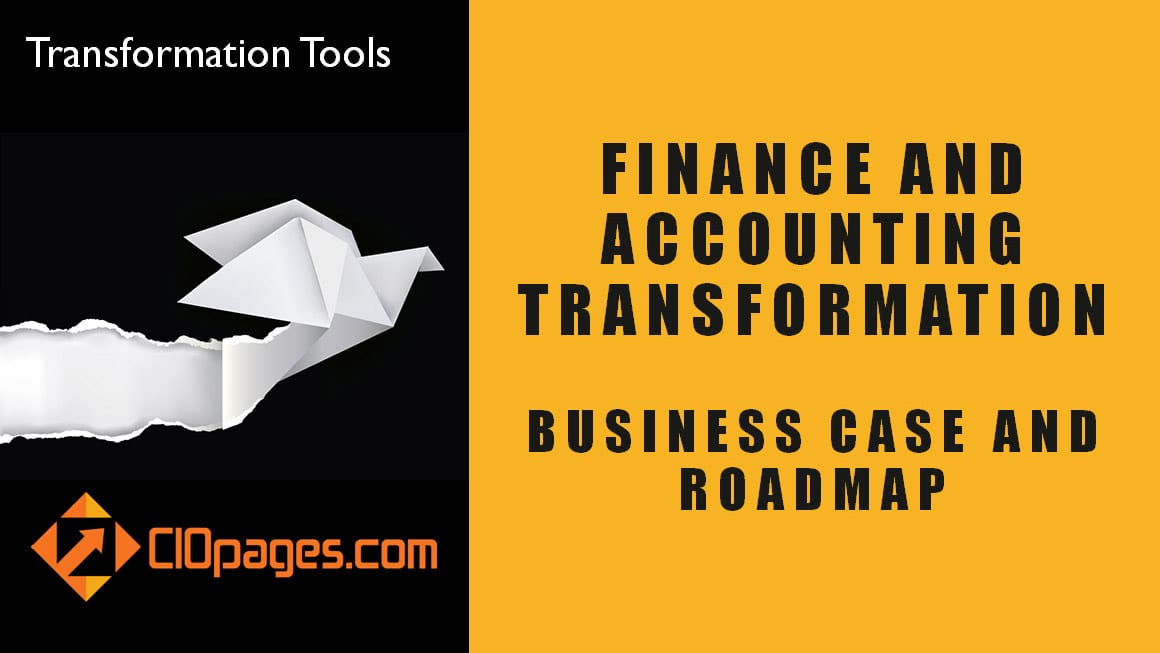 Finance and Accounting - Customizable Transformation Roadmaps