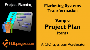 Marketing Transformation Sample Project Plan