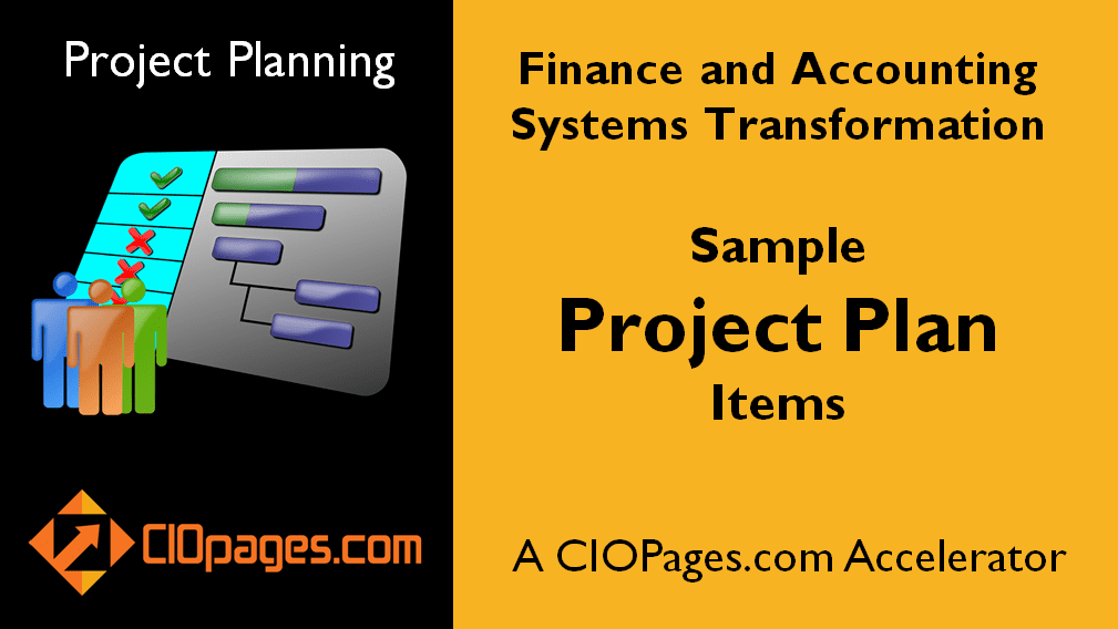 Finance Transformation Software Implementation Project Plan