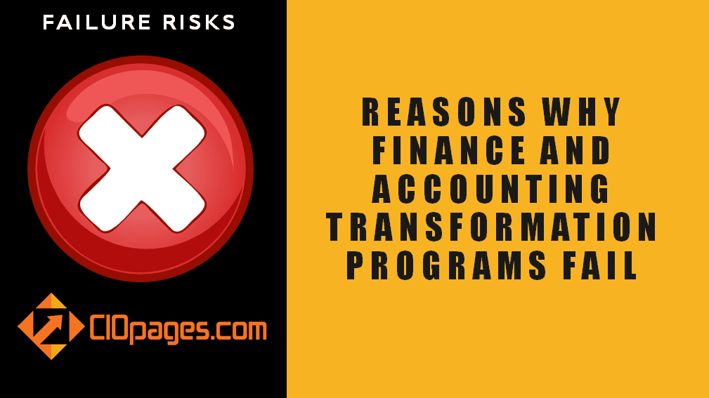 Finance Transformation Failure Risks