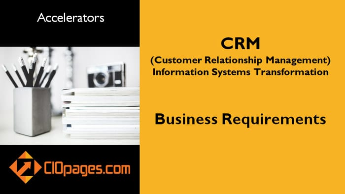 CRM Business Requirements