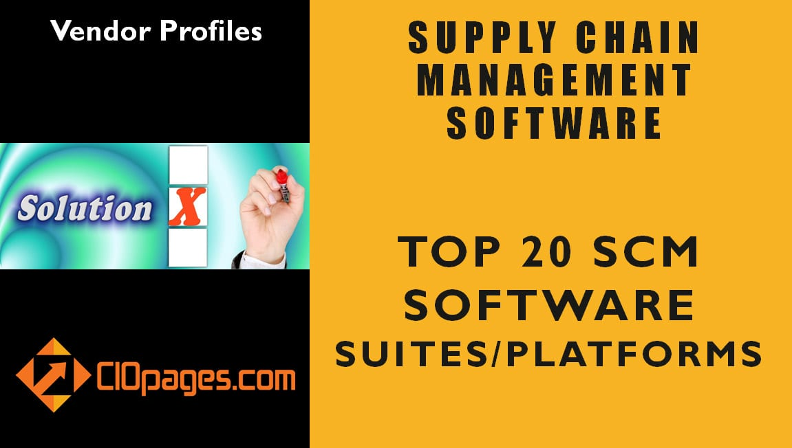 Supply Chain Management Software Vendor Scan