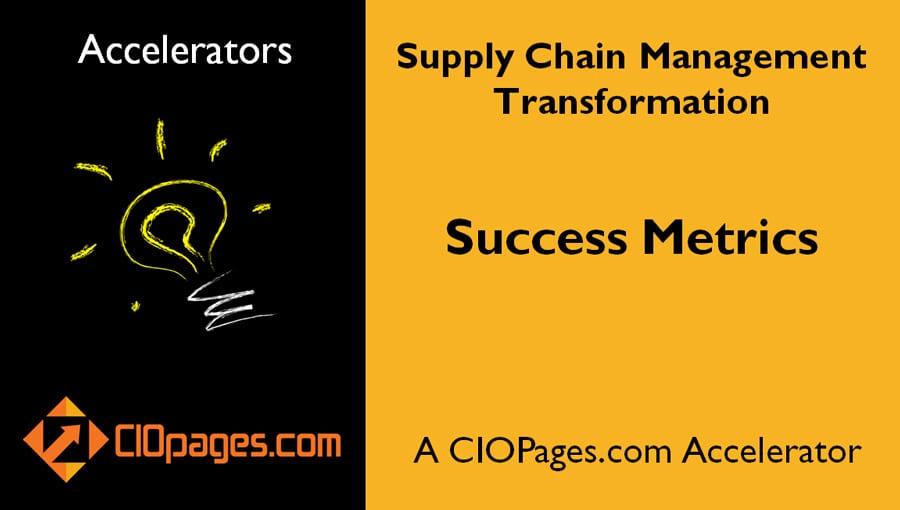Supply Chain Transformation Success Metrics