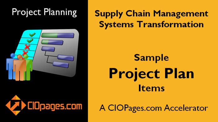 Supply Chain Management Software Implementation - Customizable Project Plans