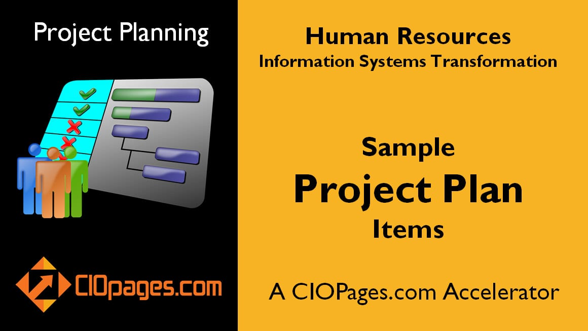 HR Transformation - Customizable Project Plans