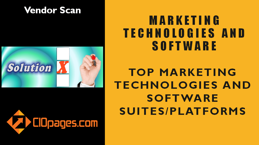 Marketing Transformation Software Vendor Scan