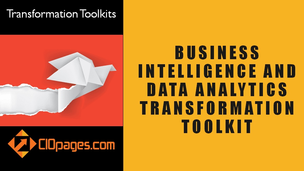 Business Intelligence Transformation Toolkit Consultancy Edition