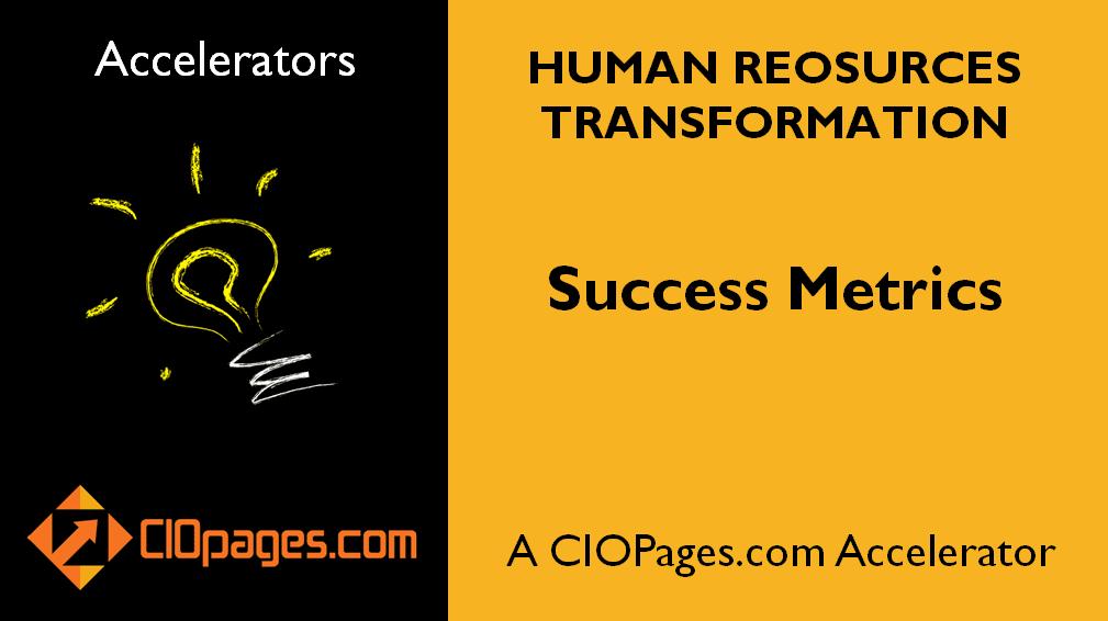 Human Resources Transformation Success Metrics