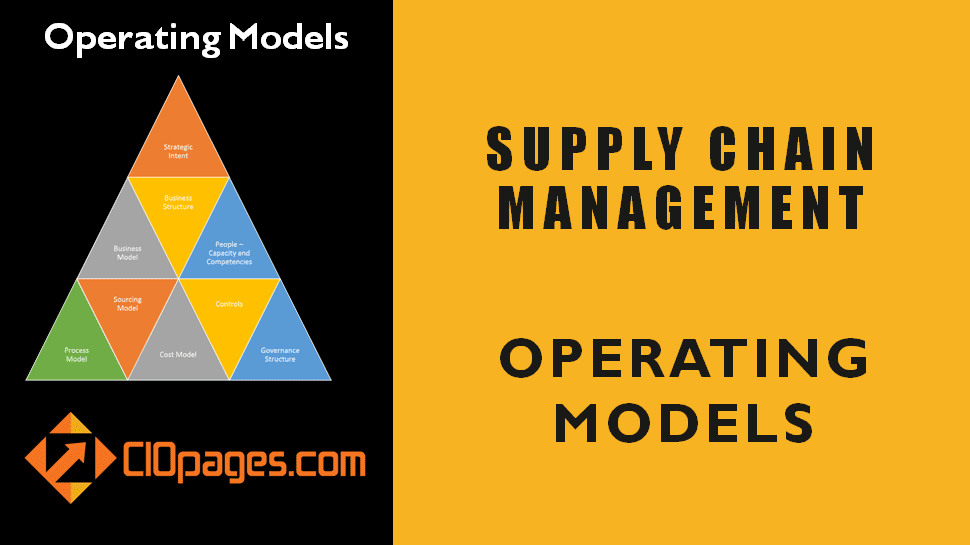 Supply Chain Management Operating Models