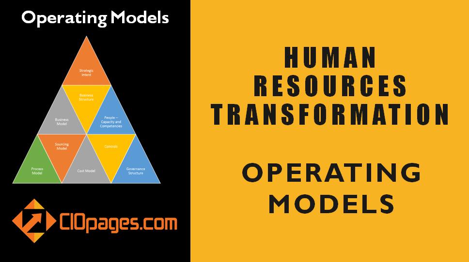 Human Resources Operating Models