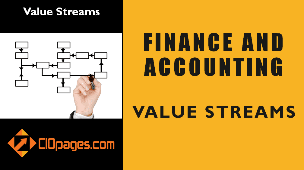 Finance and Accounting Record to Report Value Streams